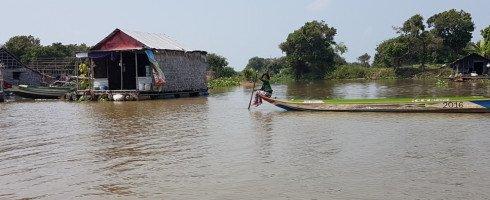 On descend la rivière Sangker avant de se «jeter» dans le Tonlé Sap